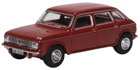 Oxford Diecast Austin Maxi Damask Red