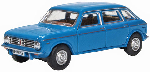OXFORD DIECAST 1:76 Scale Pageant Blue Austin Maxi