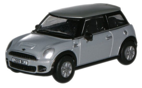 Oxford Diecast Pure Silver Mini (New) - 1:76 Scale