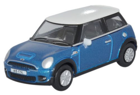 Oxford Diecast Mini Laser Blue - 1:76 Scale