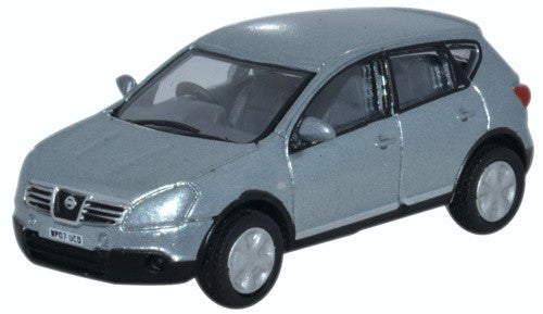 Oxford Diecast Nissan Qashqai Metallic Faded Denim - 1:76 Scale