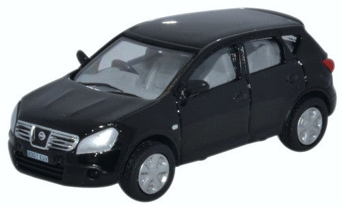 Oxford Diecast Nissan Qashqai Black - 1:76 Scale