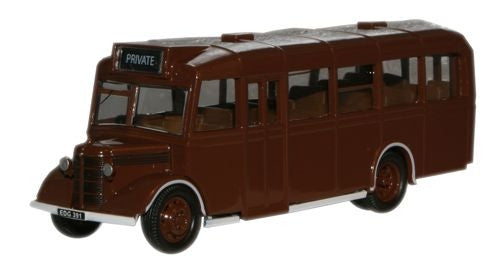 Oxford Diecast Brown Ministry of Supply Bedford OWB - 1:76 Scale