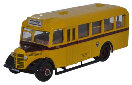 Oxford Diecast Bedford OWB Bournemouth Corporation - 1:76 Scale