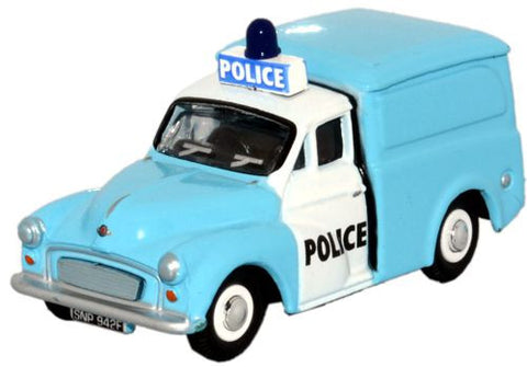 Oxford Diecast Morris Minor - Light Bar on Cab - 1:76 Scale