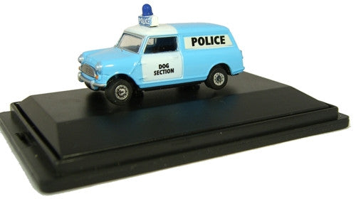 Oxford Diecast Morris Mini Police - 1:76 Scale