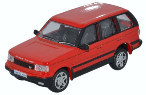 Oxford Diecast Range Rover P38 Rioja Red