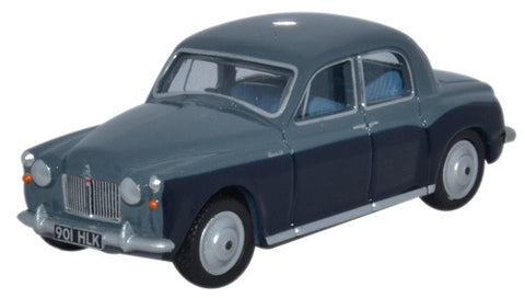 Oxford Diecast Rover P4 Steel Blue - Light Navy - 1:76 Scale