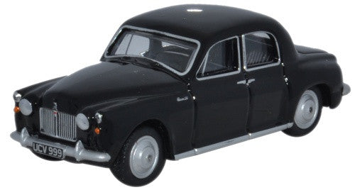 Oxford Diecast Rover P4 Black Cornwall Constabulary