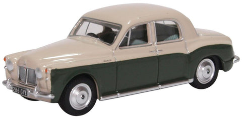 Oxford Diecast Rover P4 Stone Grey and Juniper Green