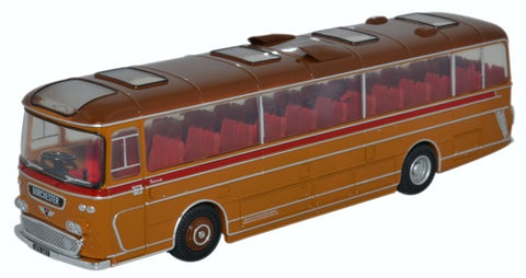 Oxford Diecast Plaxton Panorama Bere Regis & District