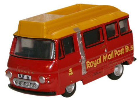 Oxford Diecast Royal Mail Commer PB Postbus - 1:76 Scale