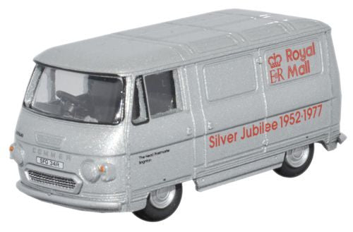 Oxford Diecast Royal Mail Silver Jubilee Commer PB Van  - 1:76 Scale