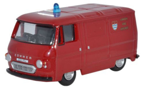 Oxford Diecast Commer PB Van London Fire - 1:76 Scale