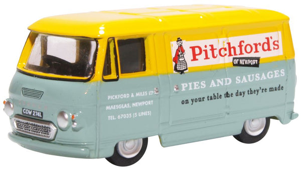 Oxford Diecast Commer PB Van Pitchford & Miles