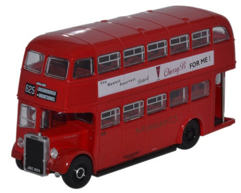 Oxford Diecast Leyland Titan PD2_12 Midland Red - 1:76 Scale