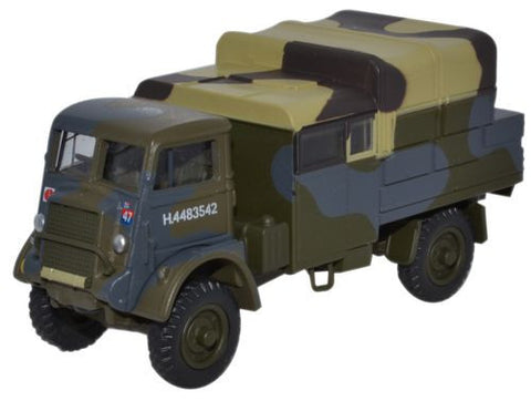 Oxford Diecast Bedford QLB 4th Infantry, UK 1942 - 1:76 Scale