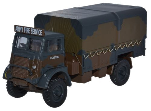 Oxford Diecast Bedford QLD Army Fire Service - 1:76 Scale