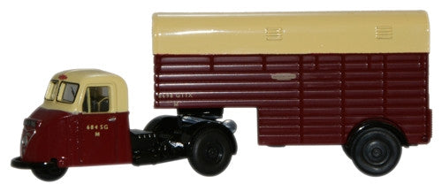 Oxford Diecast British Rail Scarab Horsebox - 1:76 Scale