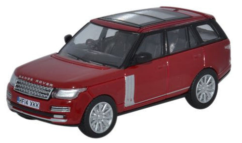 Oxford Diecast Range Rover Vogue Firenze Red