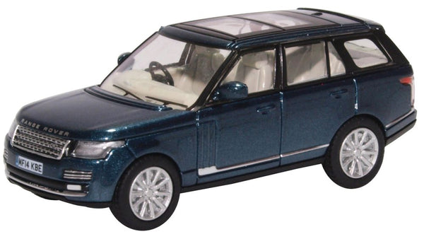 Oxford Diecast Range Rover Vogue Aintree Green Metallic