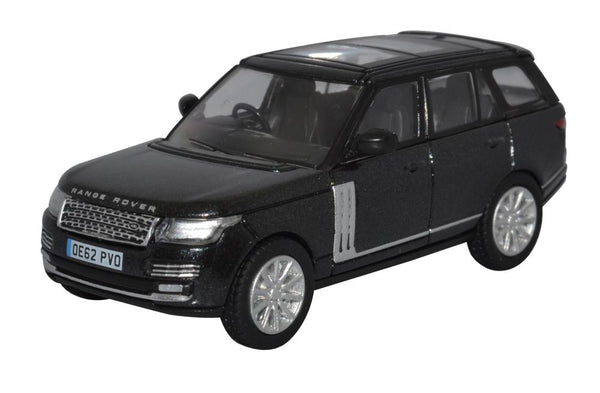 Oxford Diecast Santorini Black Prince William Range Rover Vogue