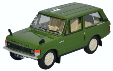 Oxford Diecast Range Rover Classic Lincoln Green