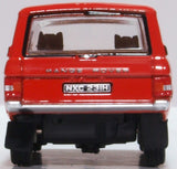 Oxford Diecast Range Rover Classic Masai Red