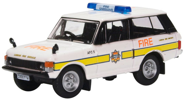 Oxford Diecast Range Rover Classic London Fire Brigade