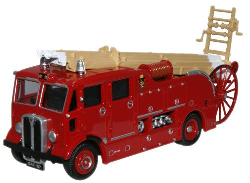 Oxford Diecast AEC Regent Fire Engine West Ham - 1:76 Scale