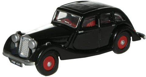 Oxford Diecast Black Riley Kestrel - 1:76 Scale