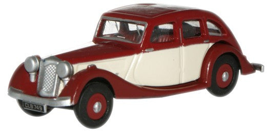 Oxford Diecast Maroon/Ivory Riley Kestrel - 1:76 Scale