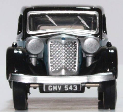 Oxford Diecast Riley Kestrel Blue and Black