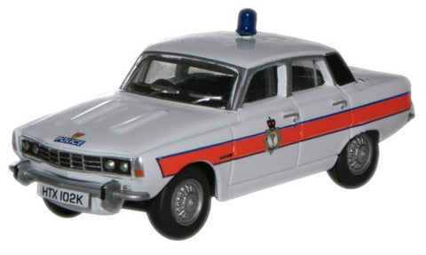 Oxford Diecast Rover P6 South Wales Police - 1:76 Scale
