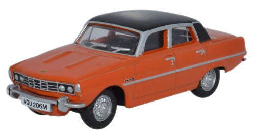 Oxford Diecast Rover P6 Paprika - 1:76 Scale