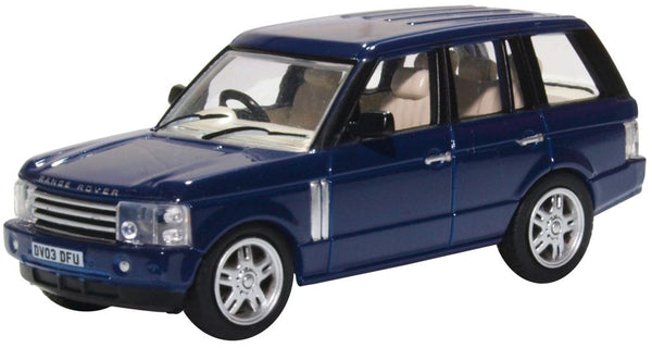 Oxford Diecast Range Rover 3rd Generation Adriatic Blue