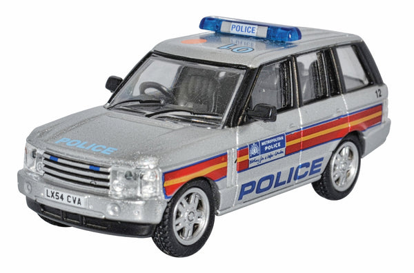 Oxford Diecast Metropolitan Police Range Rover 3rd Generation 1:76 Scale.