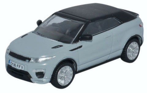 Oxford Diecast Range Rover Evoque Convertible Baltoro Ice