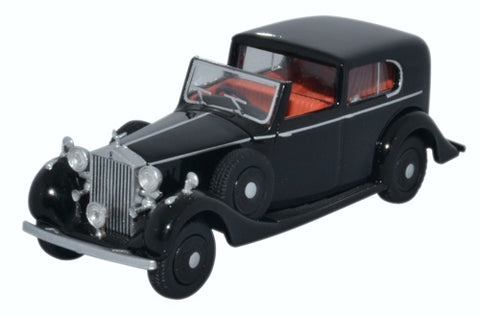Oxford Diecast Rolls Royce Phantom III Black