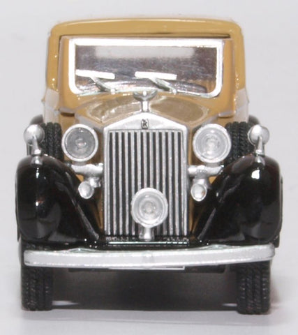 Oxford Diecast Rolls Royce Phantom III Fawn/black
