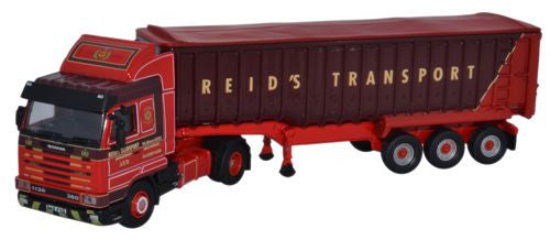 Oxford Diecast Scania 113 Tipper Reids Of Minishant 1 76 Scale