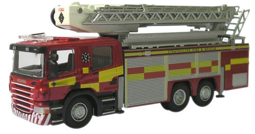 Oxford Diecast Strathclyde Fire & Rescue  Aerial Rescue Pump - 1:76 Sc