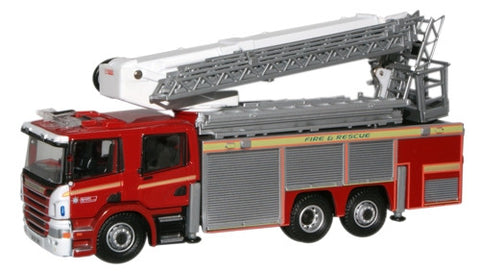 Oxford Diecast Avon Fire & Rescue Scania Aerial Rescue Pump - 1:76 Sca