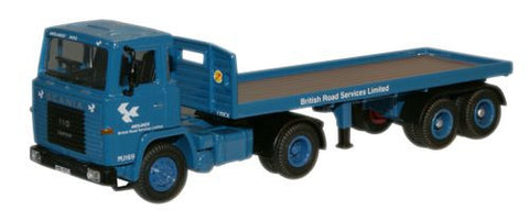 Oxford Diecast Scania 110 Flatbed BRS - 1:76 Scale
