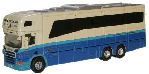 Oxford Diecast Eric Gillie Scania Horsebox - 1:76 Scale
