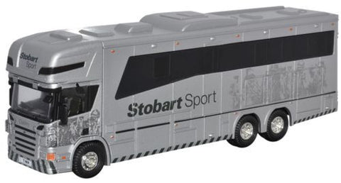 Oxford Diecast Eddie Stobart Scania Horsebox - 1:76 Scale
