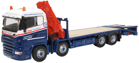 Oxford Diecast Scania Crane Lorry Galt Transport