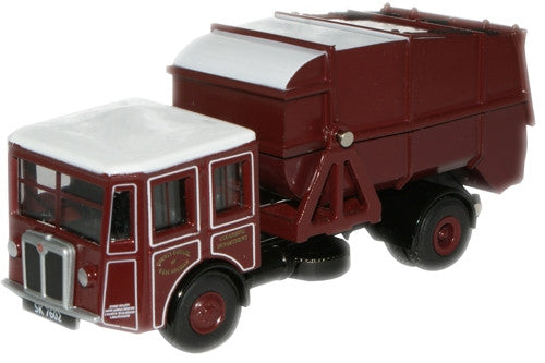 Oxford Diecast Shelvoke & Drewry Dustcart - 1:76 Scale