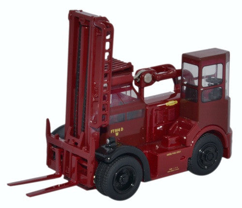 Oxford Diecast Shelvoke & Drewry Freightlifter British Railways Crimson