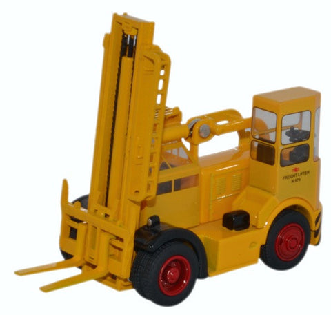 Oxford Diecast Shelvoke & Drewry Freightlifter British Rail yellow